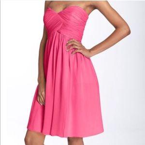 Donna Morgan Coral 'Honeysuckle' strapless dress
